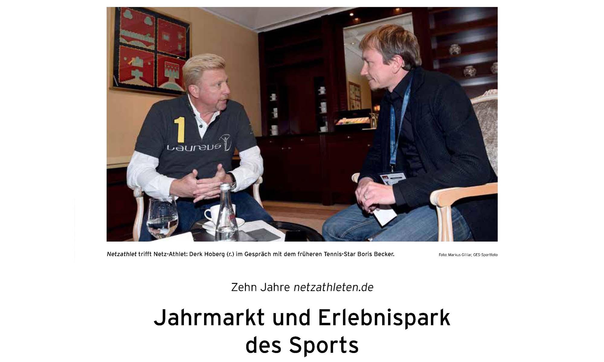 Derk Hoberg, Boris Becker