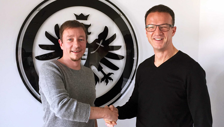 Derk Hoberg und Fredi Bobic