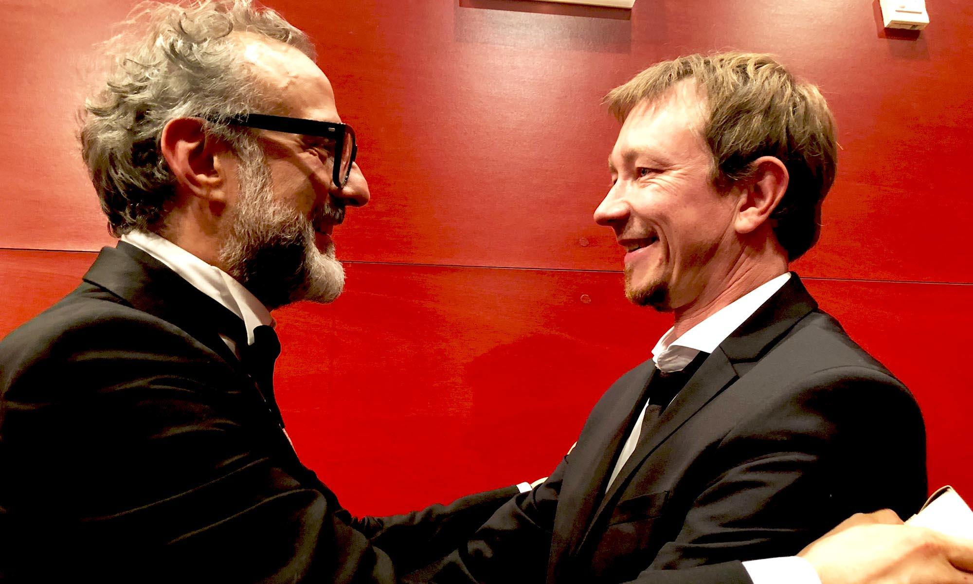 Massimo Bottura und Derk Hoberg