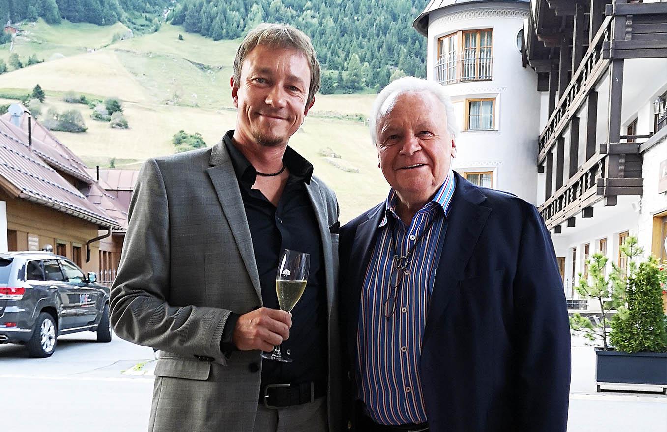 Derk Hoberg und Eckart Witzigmann